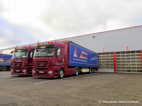 Photo: Nice MP 3 trucks :-)      Click for more photos: www.truck-pics.eu or join me on Facebook: claus wiesel