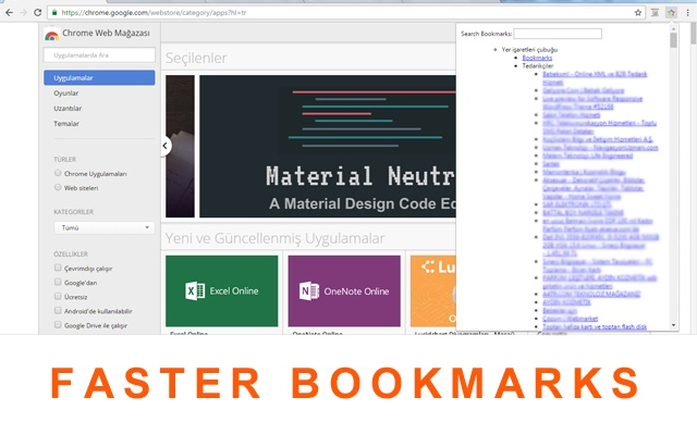 Fast Bookmarks See All Page