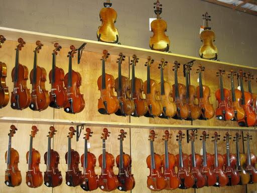 Troubadour Music Center music store instrument repair shop in Corvallis OR violins