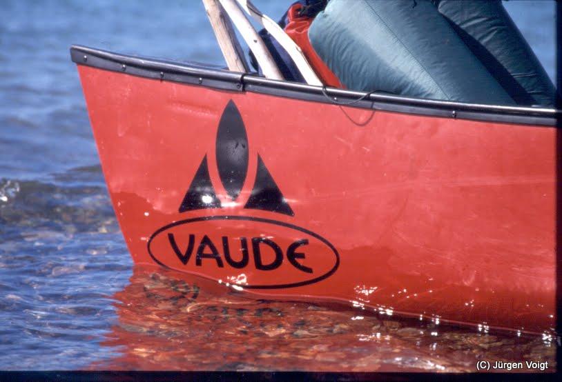 Photo: Die Reise wurde damals von Vaude gesponsert ;-)