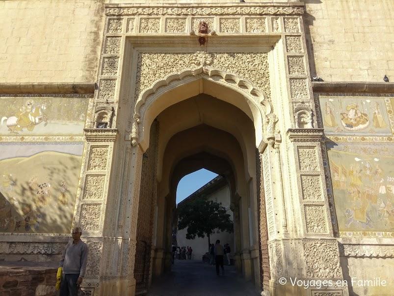 porte fort Mehrangarh