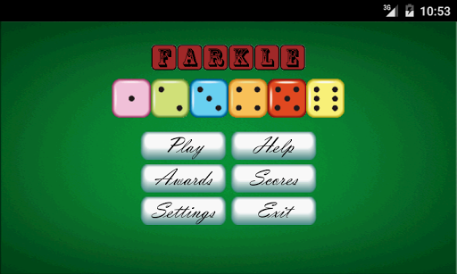 how to play farkle with five dice