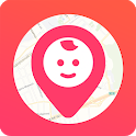 Kid security - GPS phone tracker, family search icon