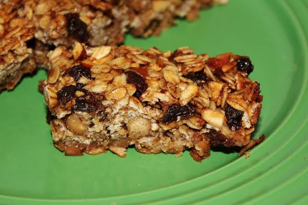 Applesauce Energy Bars Recipe