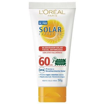 //Protector solar LORÉAL   PARIS Expertise Oil Free FPS60 UVA+UVB x50g