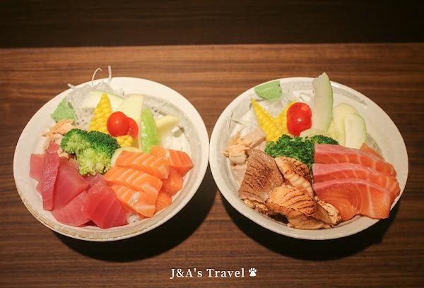 靜壽司 一碗鮭魚丼有4種風味,生魚.炙燒雙重口感一次滿足!【捷運公館美食】台大每食