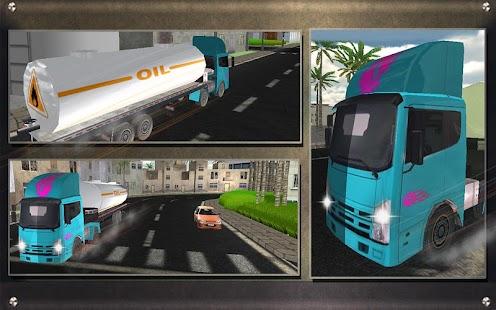 Real-Oil-Tanker-Truck-Driving 6