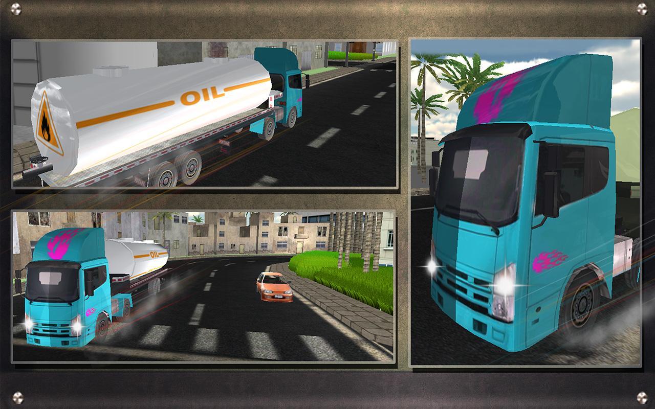 Real-Oil-Tanker-Truck-Driving 24