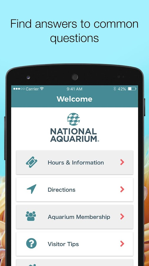 National Aquarium- screenshot