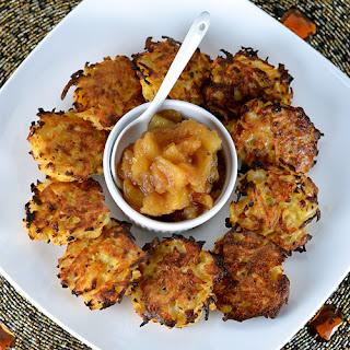 Baked Rutabaga & Potato Latkes