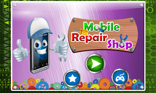 Mobile Repair Shop Game