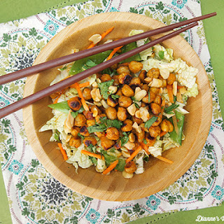 Spicy Asian Chickpea Salad