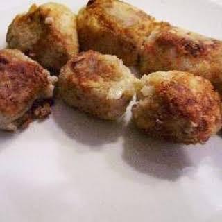 Tasty Tuna Rissoles.