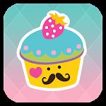 BBM Theme - Cute Cupcakes