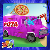 Pizza Truck Wash Salon Game