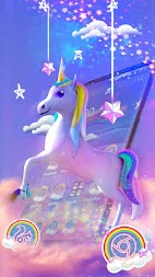 Rainbow unicorn APK screenshot thumbnail 2