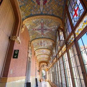 San Pau by Gabriela Zandomeni - Buildings & Architecture Public & Historical ( barcelona, modernism )