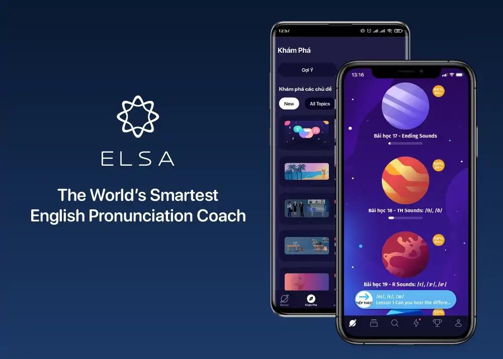 Phần mềm luyện phát âm cho trẻ - ELSA Speak