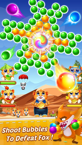 Bubble Shooter 2 Tiger 1.0.36 screenshots 3