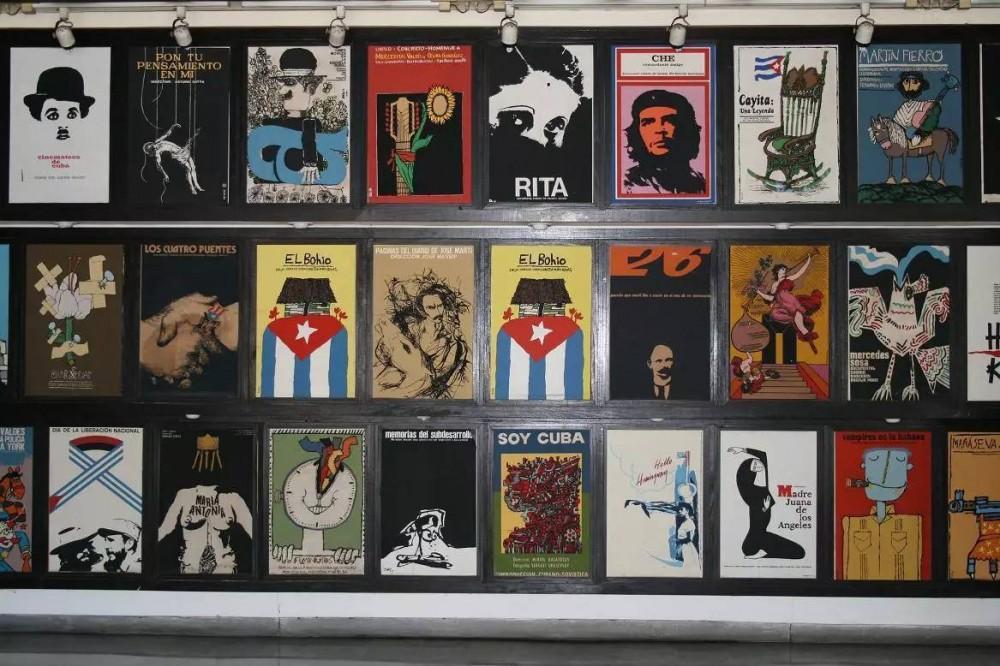 紅色革命古巴,卻有著讓人讚歎的電影海報藝術