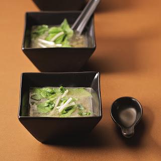 Raw Miso Soup.