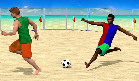 Beach Football screenshot