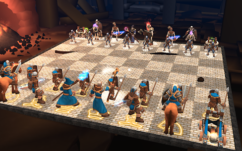 Chess 3D Free : Real Battle Chess 3D Online App Download For Android and iPhone 1
