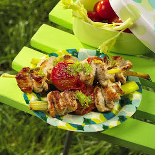 Teriyaki Pork Skewers.