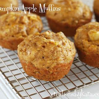 Pumpkin Apple Muffins.