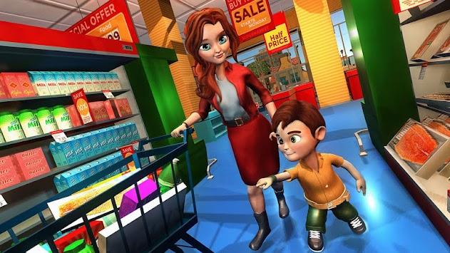 Virtual Mother Working Mom Family Simulator