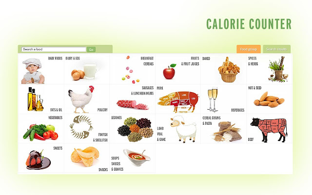 Compteur de calories chrome web store for Cuisine 0 calorie