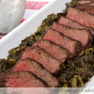 Simple Grilled Bison Steaks.