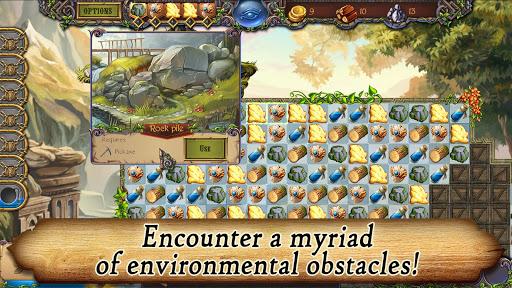Runefall - Medieval Match 3 Adventure Quest android2mod screenshots 4