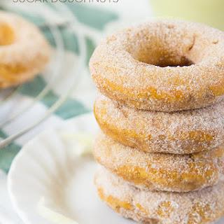 Pumpkin Apple Sugar Doughnuts