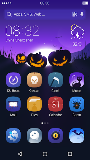 Halloween: DU Launcher Theme