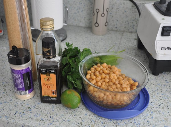 Place all the ingredients in the food processor