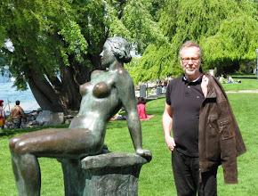 Photo: Lasse ja naiskauneutta Zürichissä