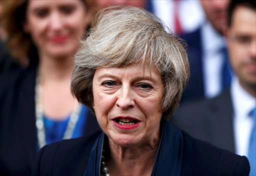 Theresa May. Picture: REUTERS/NEIL HALL