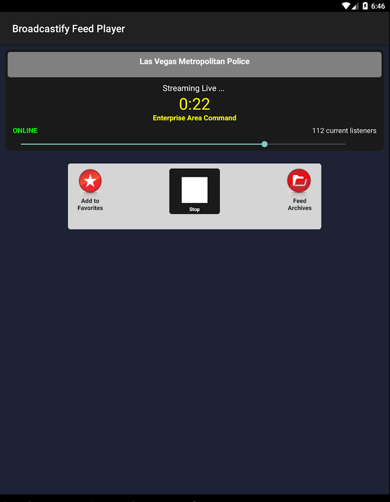 Broadcastify Police Scanner Pro Screenshot 4