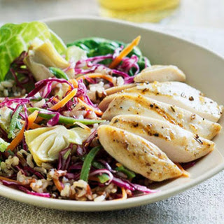 Chicken and Wild Rice Salad