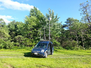 Photo: K8GP / Rover - FN00WA (looking SSE) - ARRL June VHF 2014