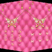 Pink Butterfly Theme – AppLock