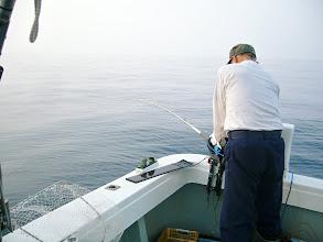 Photo: 最初からガンガン釣る「井上さん」!