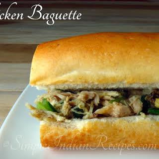 Chicken Baguette Sandwich.