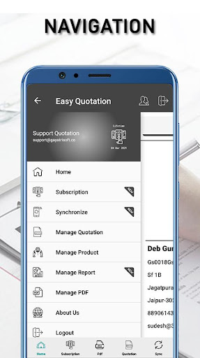Easy Quotation - Best Estimate/Quotation App 3.0.7 screenshots 2