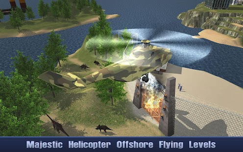 Offshore Oil Helicopter Cargo Screenshot