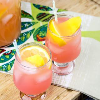 Mango Pink Lemonade with Gingerbeer