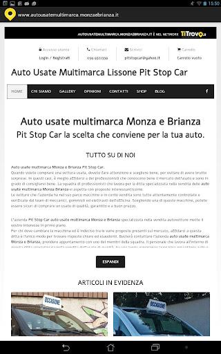 Auto usate multimarca Monza