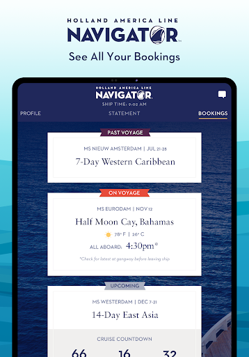 Holland America Line Navigator 1.7.5 screenshots 13