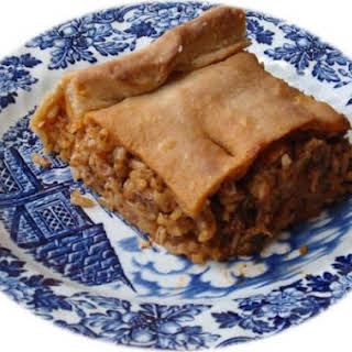 Kefalonian Meat Pie.